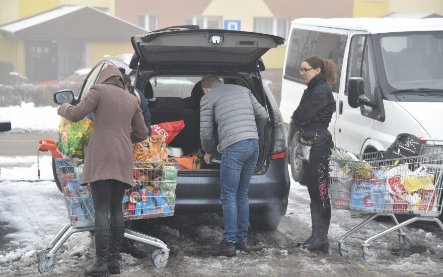 Apsipirkimas Lenkijoje, R. Sadausko - Kvietkevičiaus nuotr.