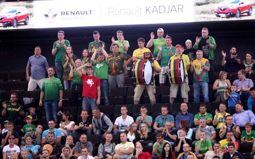 """""""Huawei"""" krepšinio turnyras. Lietuva - Kroatija"""