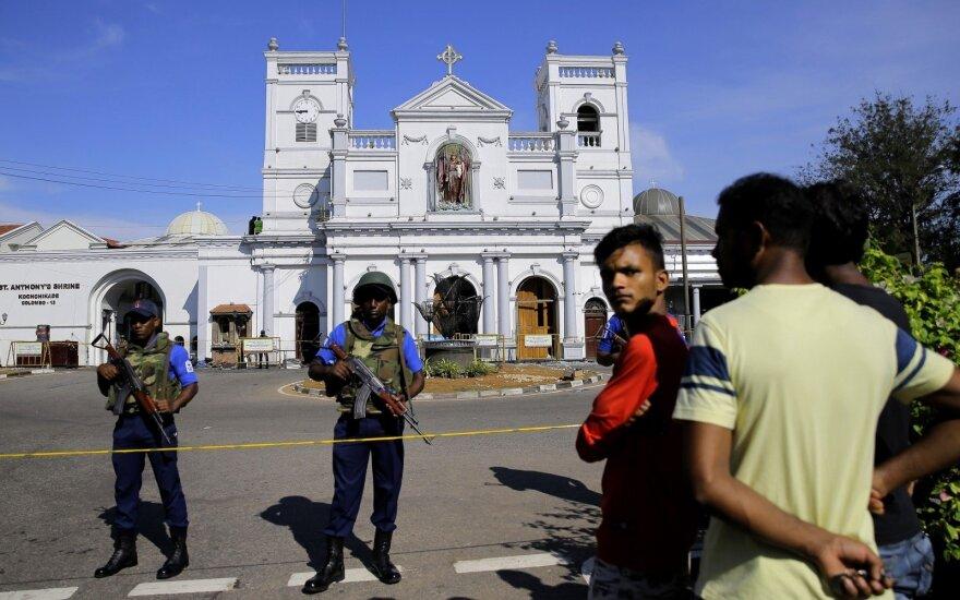 Šri Lanka po išpuolių virtinės