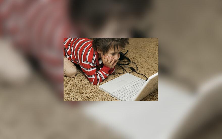 Berniukas ir kompiuteris