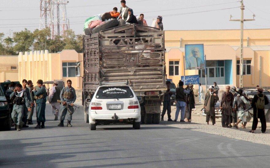 Talibai iš kalėjimo Afganistane išlaisvino šimtus kovotojų