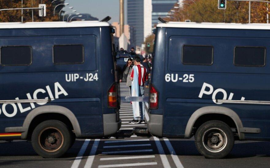 Masiniai areštai Ispanijoje