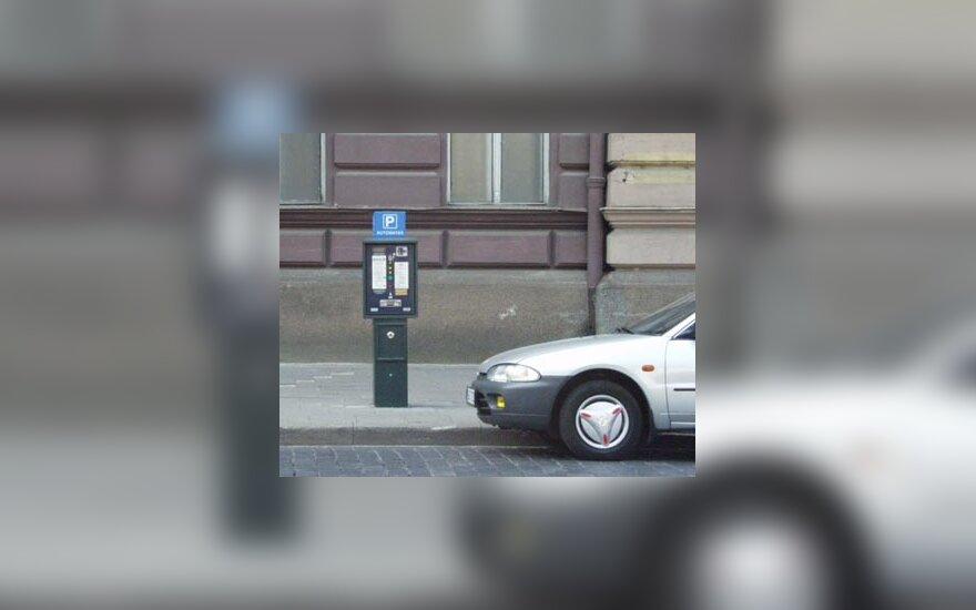 Parkavimo automatas