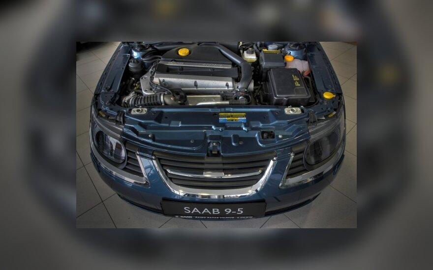 """""""Saab 9-5"""" variklis"""