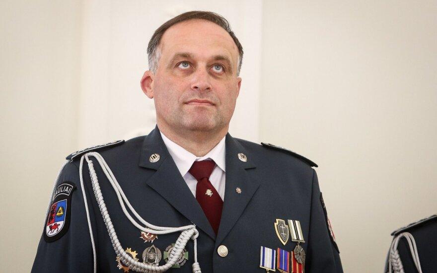 Policijos vadovo pavaduotoją Bobiną keičia pasienietis Tamulevičius
