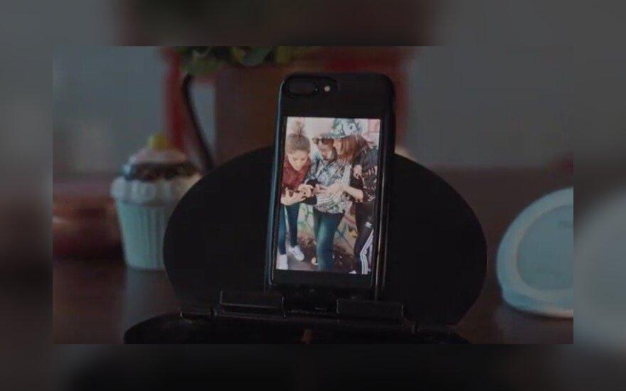 Dėklas Eye skirtas iPhone naudoti su Android