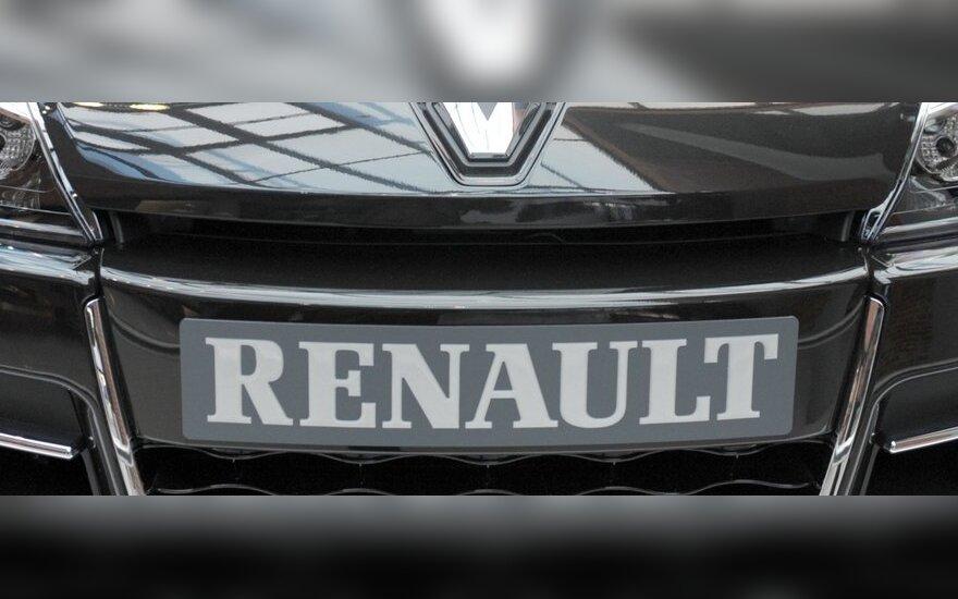 """""""Renault"""" investuos 5,7 mlrd. eurų į gamybinius pajėgumus"""