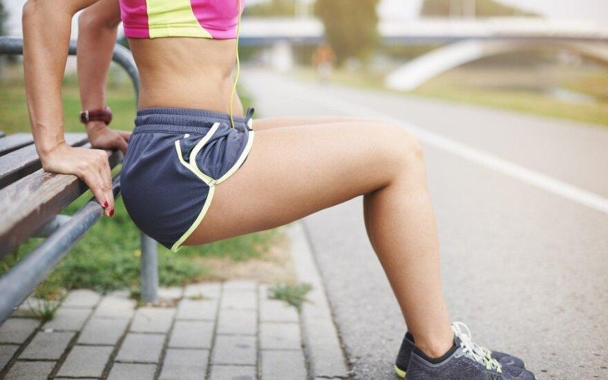 Nustebsite, kiek būtina sportuoti norint išvengti ligų