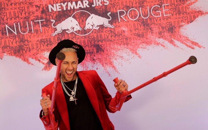 Neymaro gimtadienio vakarėlis Paryžiuje