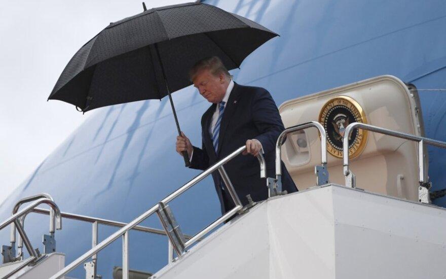 Donaldas Trumpas atvyko į Japoniją