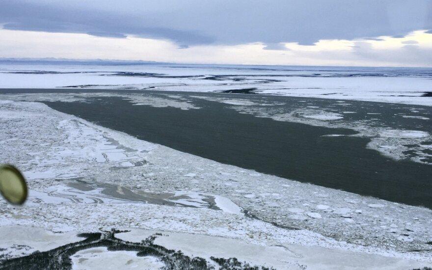 Sulaikytas iš Aliaskos į Rusiją nuplaukęs amerikietis