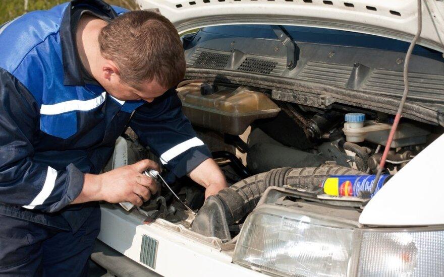 Apklausa atskleidė vairuotojų požiūrį į automobilio negalavimus