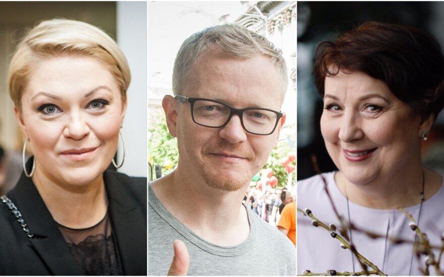 Agnė Grigaliūnienė, Juozas Liesis, Larisa Kalpokaitė