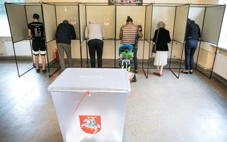 Bus sudaromas rinkimų komisijų narių rezervas
