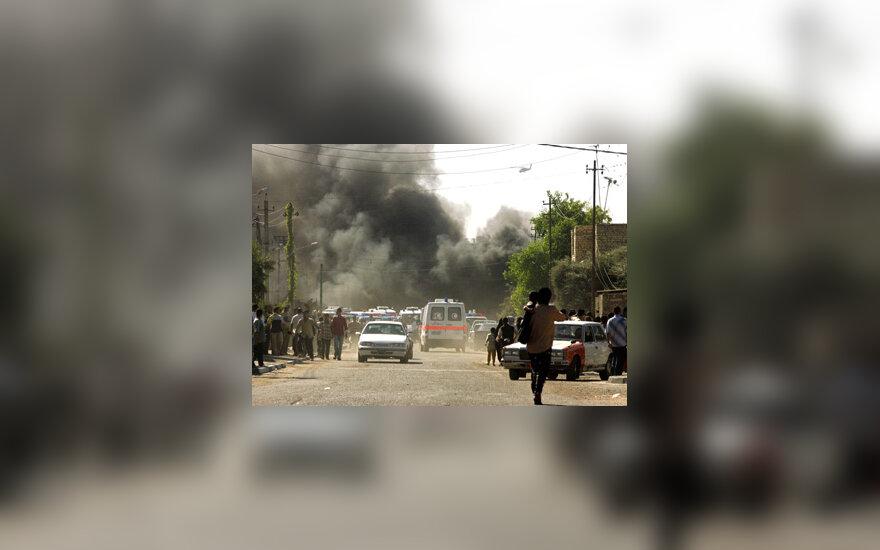 Sprogimas Bagdade, Irakas