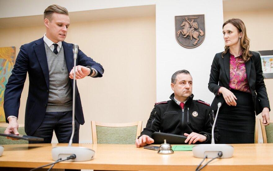 Gabrielius Landsbergis, Renatas Požėla, Viktorija Čmilytė-Nielsen