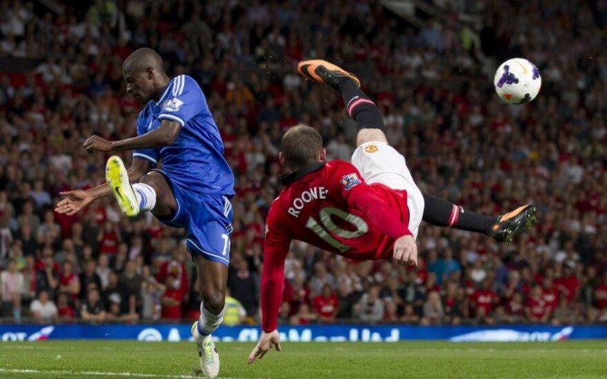 Ramiresas kovoja su Wayne'u Rooney