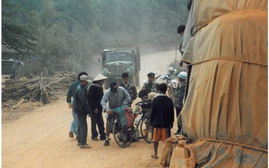 Aplink pasaulį dviračiais per 525 dienas: Indija pribloškė kontrastais