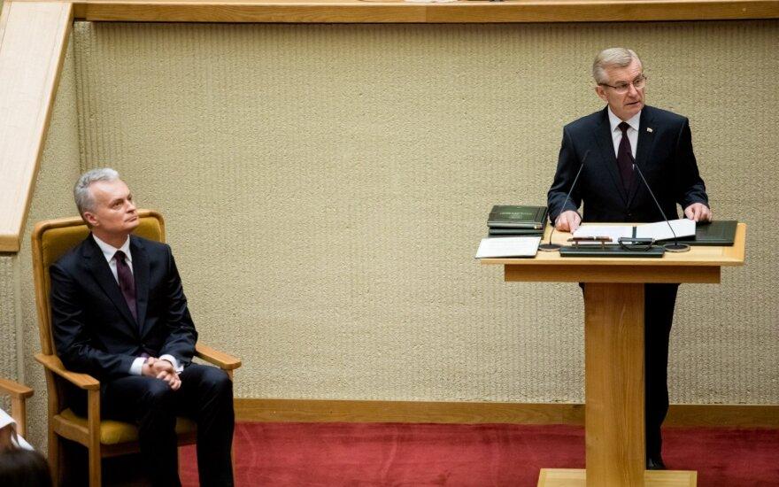Pranckietis sveikina Nausėdos sprendimą pirmojo vizito vykti į Lenkiją
