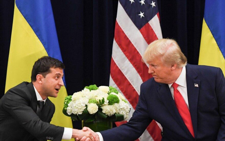 V.Zelenskis susitiko su D.Trumpu