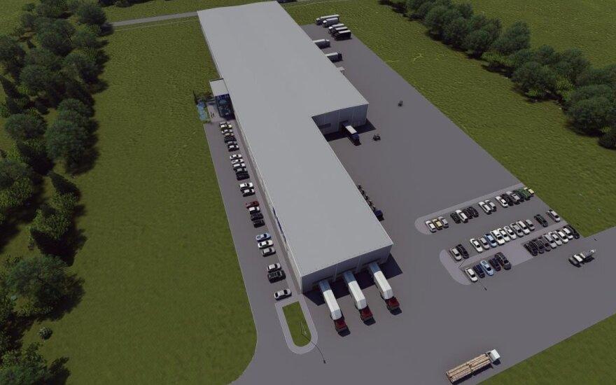"Alytuje baigta statyti 9,2 mln. eurų vertės ""Glass LT"" gamykla"