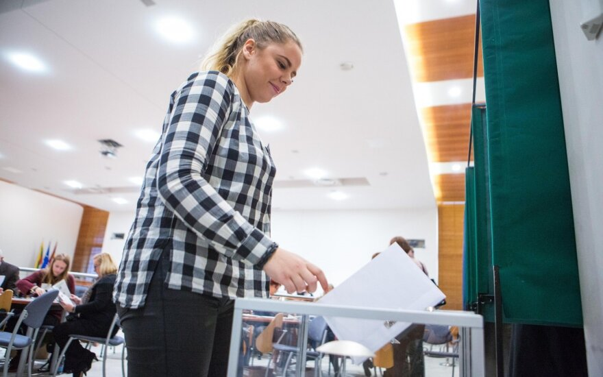 Early voting to the Seimas