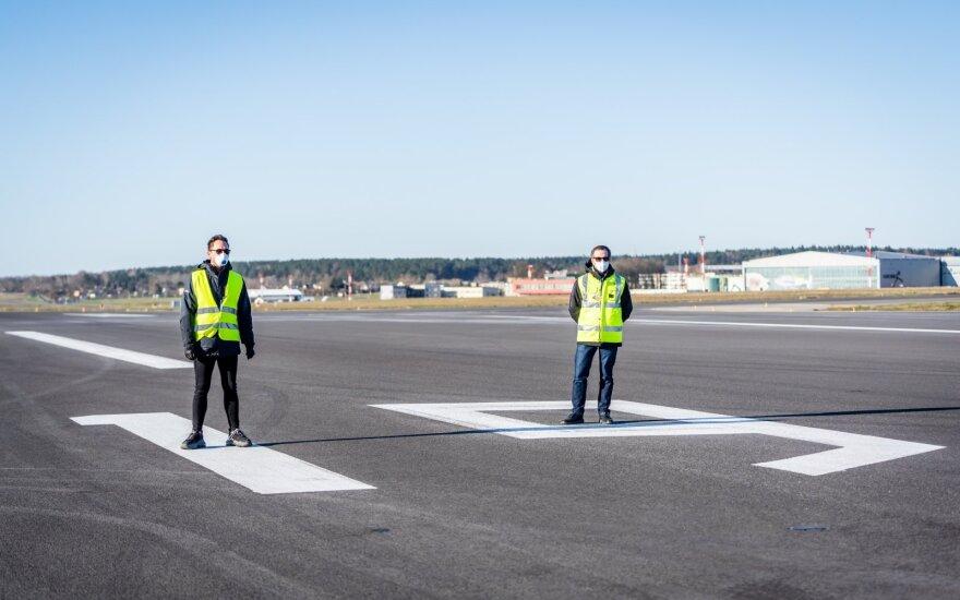 Tuščias Vilniaus oro uostas