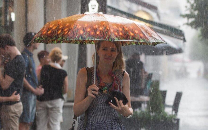 Orai: užlies gaiva ir krituliai