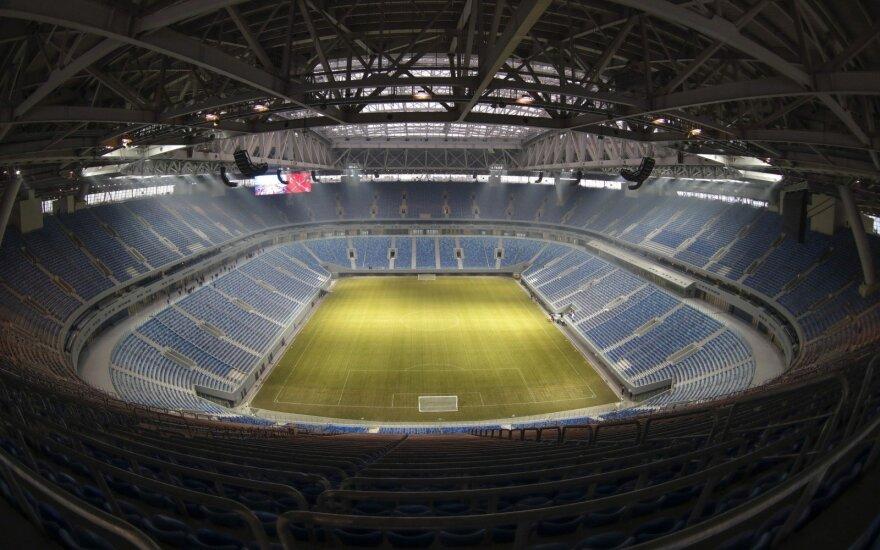 """Sankt Peterburgo """"Zenit"""" stadionas"""