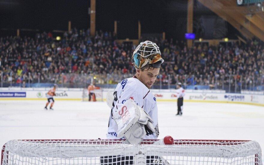 Į Švediją grįžęs Armalis: nebūtina žaisti KHL, kad patektum į NHL
