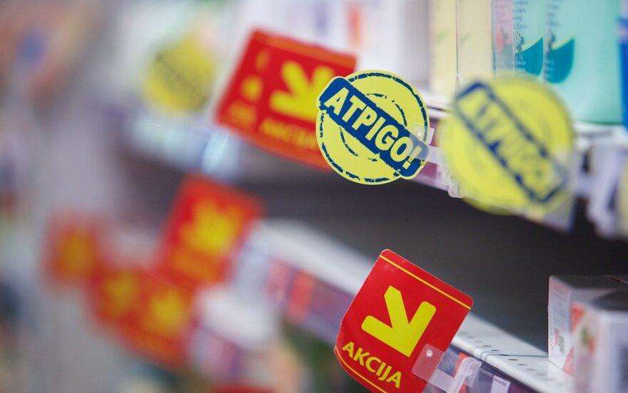 Prekybininkų triukai: paaiškino, ką reiškia didelė nuolaida ant etiketės
