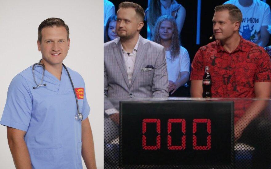 Paulius Morkūnas ir Mantas Katleris/ Foto: TV3
