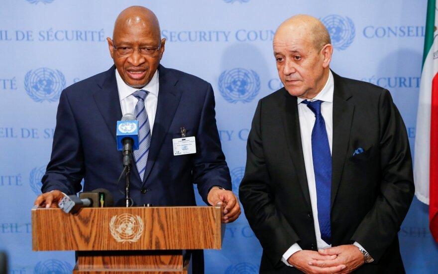 Soumeylou Boubeye Maiga (kairėje)
