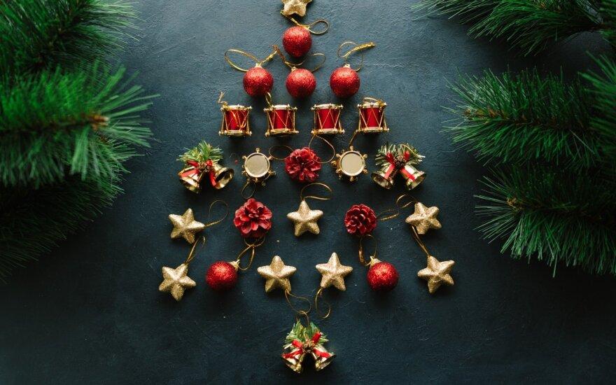 Fotografuok! Išrinkime originaliausią namuose papuoštą kalėdinę eglutę