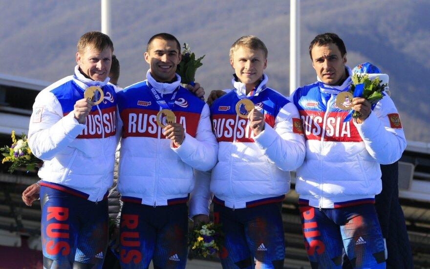 Rusijos bobslėjaus rinktinė Sočio olimpiadoje
