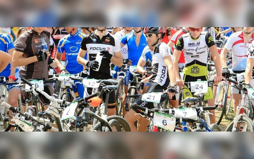 Lietuvos kalnų dviračių maratonų taurės varžybų dalyviai