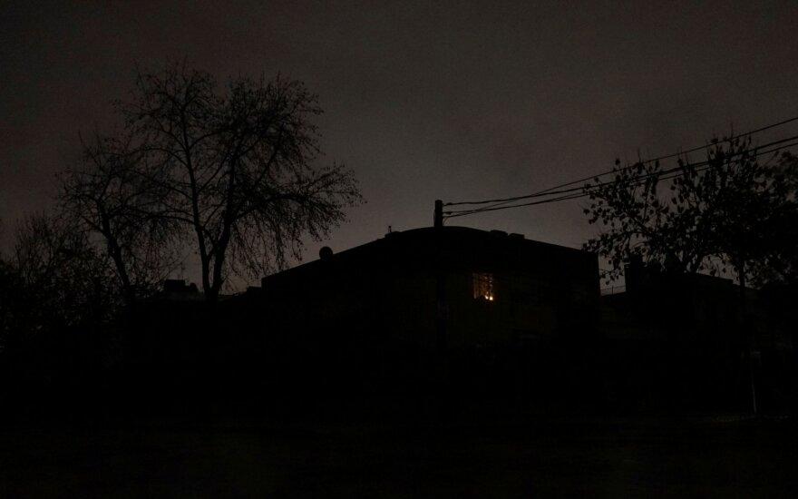 Argentinoje ir Urugvajuje nutrūkęs elektros tiekimas beveik atstatytas