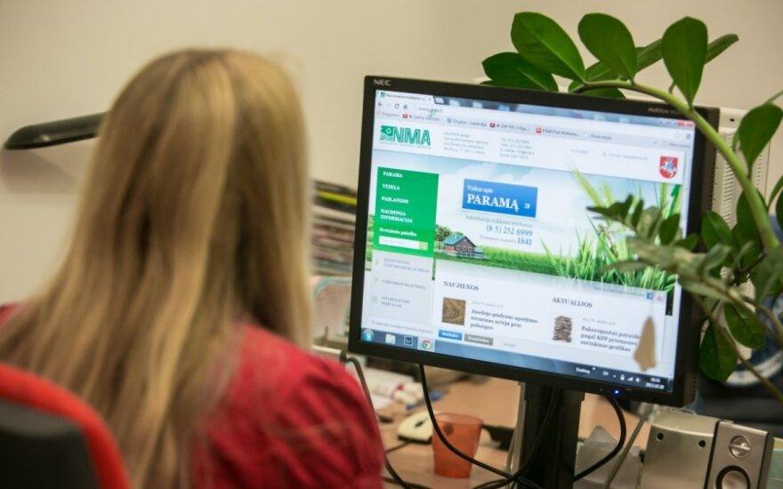 NMA informaciniu portalu naudojasi vis daugiau paramos gavėjų