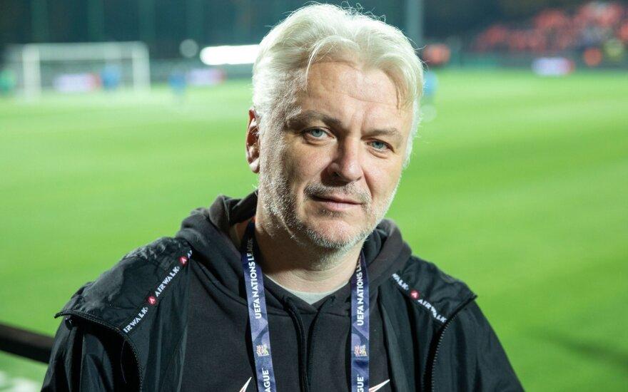 Apie jausmus Lietuvos futbolui prabilęs Kesminas: dabar lieka mylėti lavoną