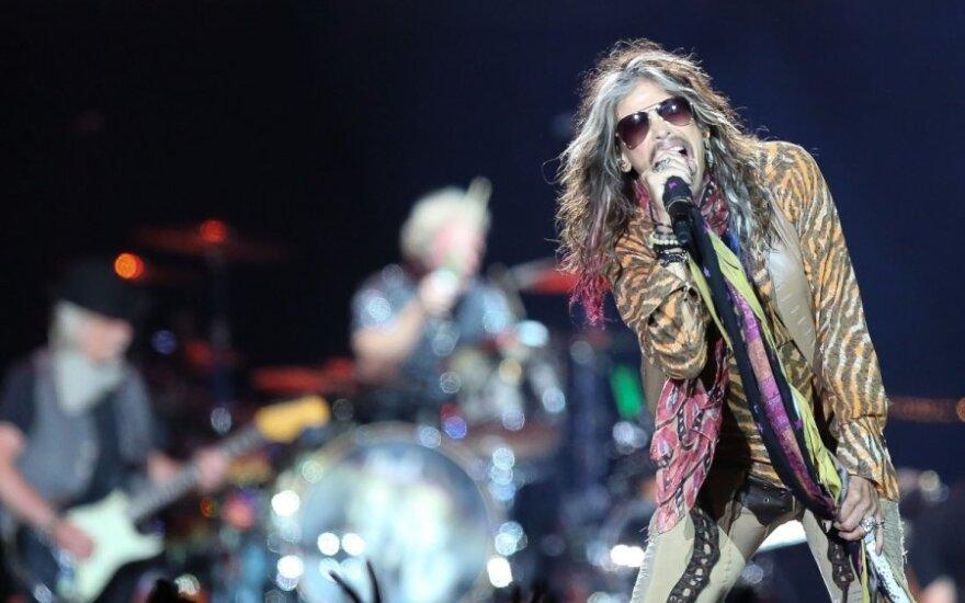 """Aerosmith"" koncertas"