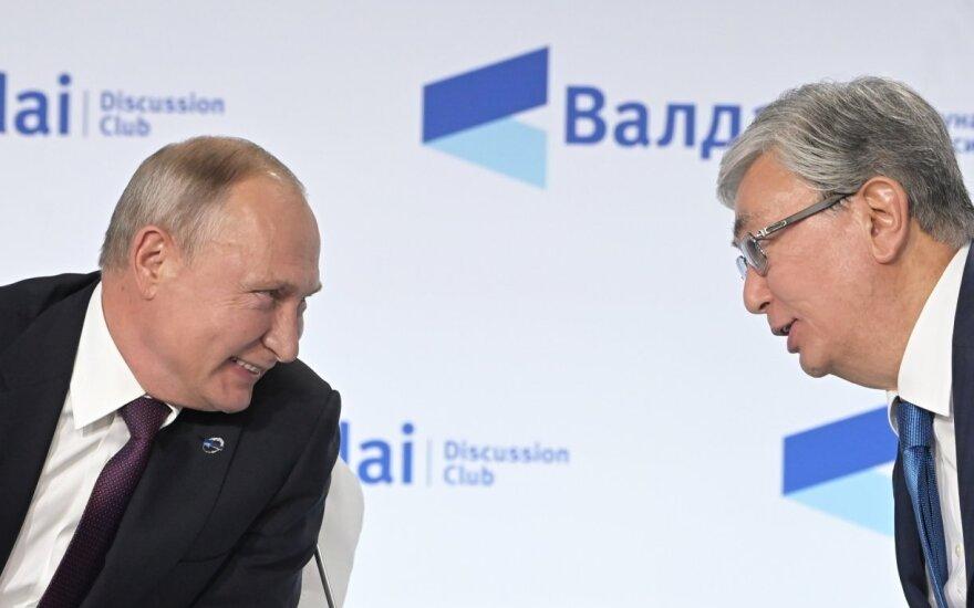 Putinas apie Rusijos ir Kinijos planą: tai labai rimtas dalykas