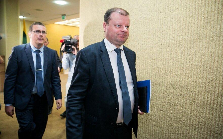 Saulius Skvernelis, Skirmantas Malinauskas