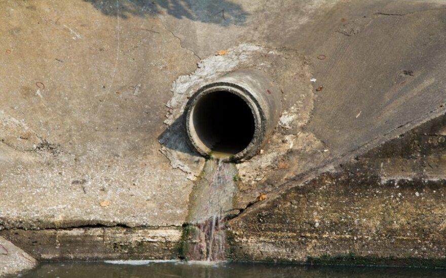 Taip upes gali pasiekti tik lietaus vanduo