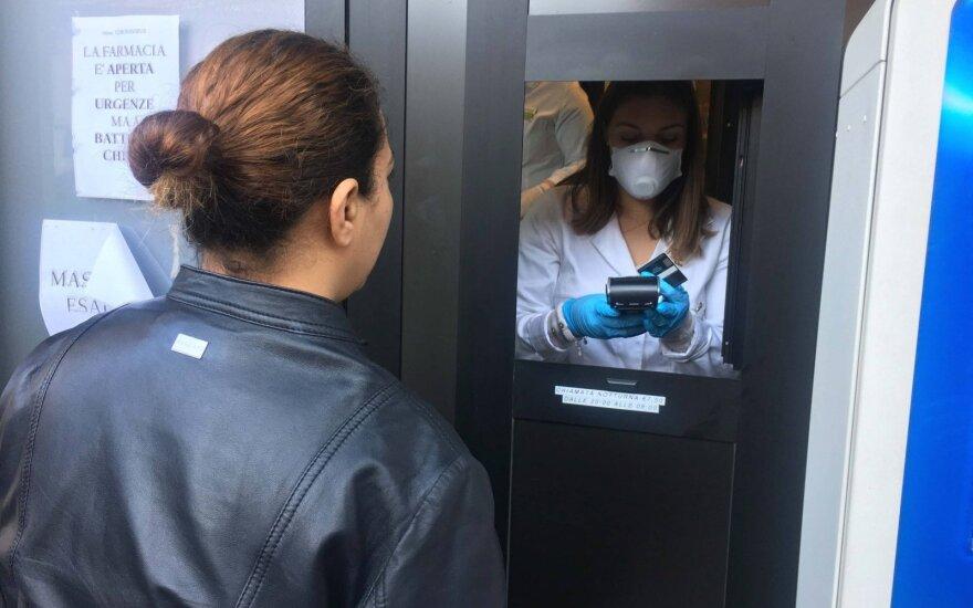 Pietų Italijoje – pirmasis užsikrėtimo koronavirusu atvejis