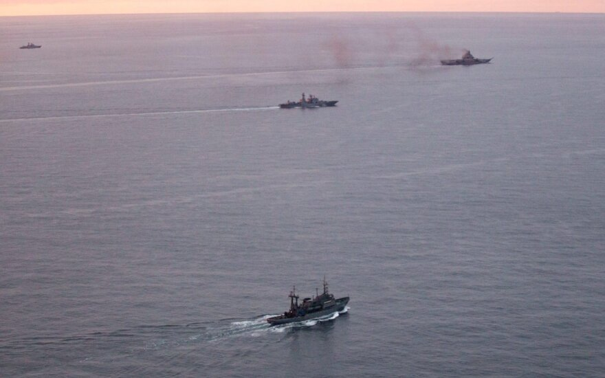 Military Russia's vessels