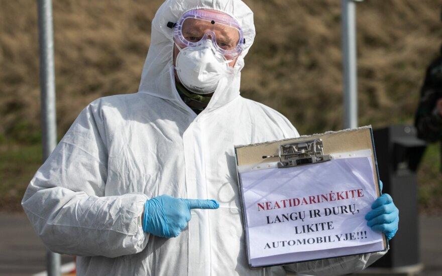 Lietuvoje patvirtinti 14 naujų koronaviruso infekcijos atvejų. Užsikrėtusiųjų skaičius pasiekė beveik pusantro šimto