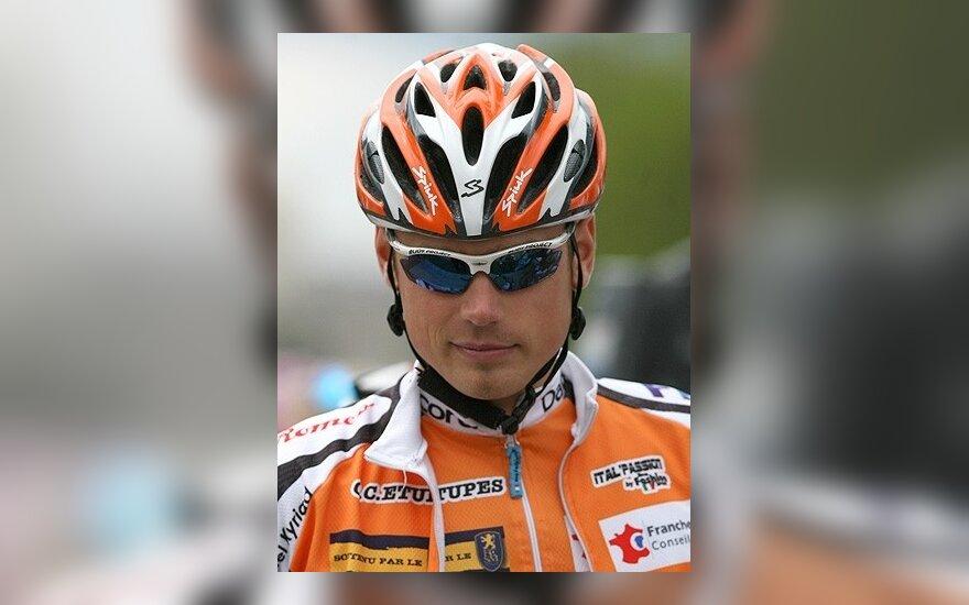 A.Buividas dviratininkų lenktynėse Prancūzijoje buvo 18-tas