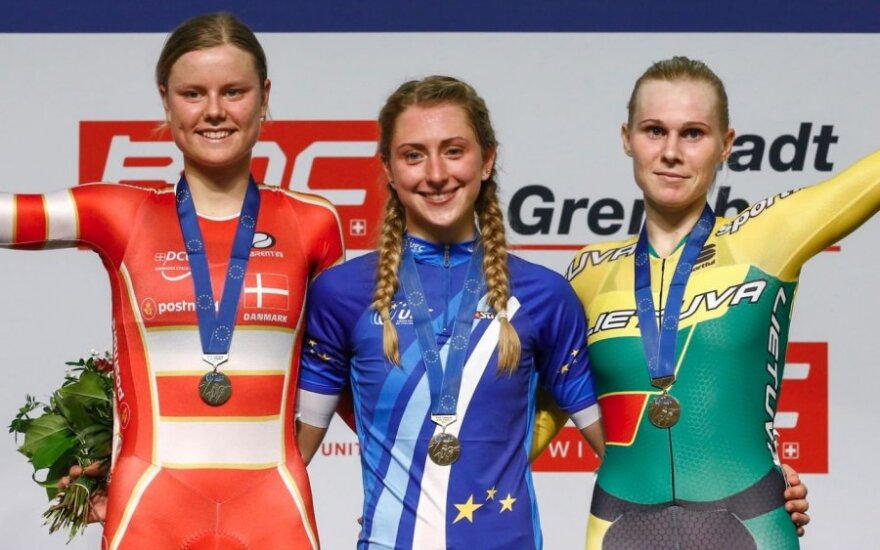 Netikėtą medalį iškovojusi A. Trebaitė: gerai ėjo koja