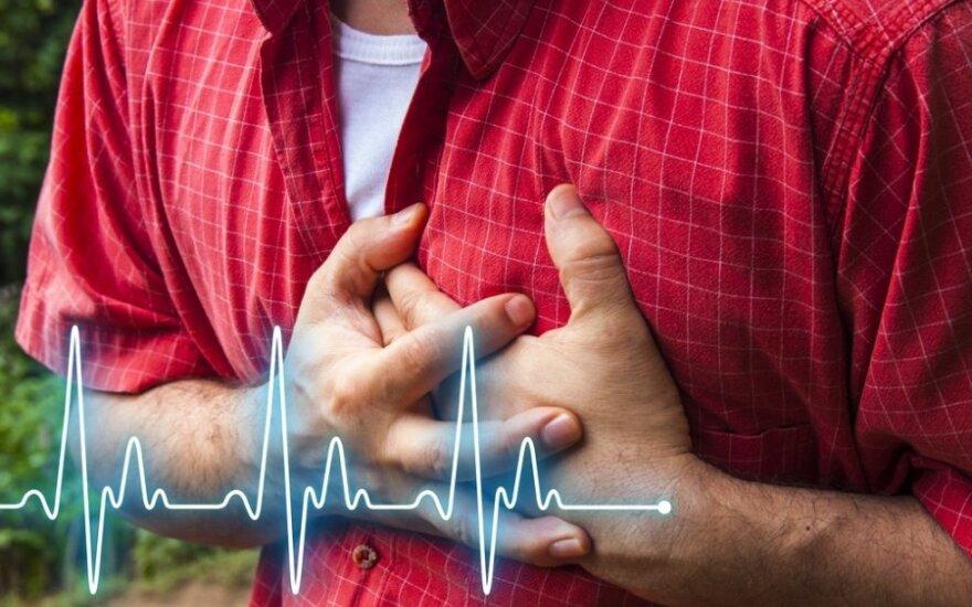 Specialistai įspėja: vasarą būtina ypač saugoti širdį
