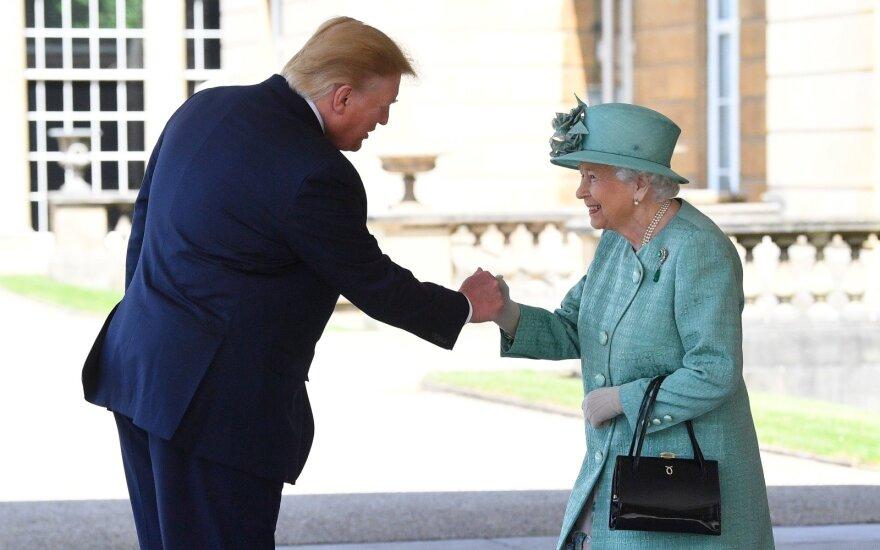 Donaldo Trumpo vizitas Jungtinėje Karalystėje